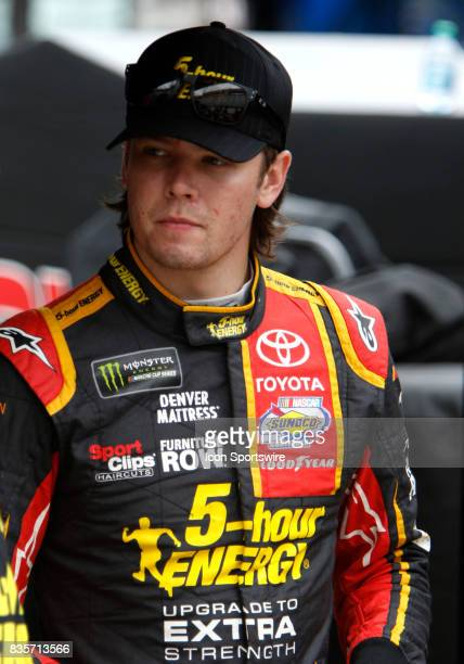 Erik Jones Furniture Row Racing 5Hour Energy Extra Strength Toyota Camry during practice for the Bass Pro Shop NRA 500 at Bristol Motor Speedway on...