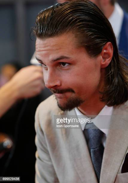 Erik Karlsson of the Ottawa Senators attends the 2017 NHL Awards at TMobile Arena on June 21 2017 in Las Vegas Nevada