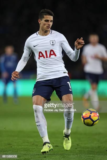 Erik Lamela of Tottenham Hotspur during the Premier League match between Leicester City and Tottenham Hotspur at The King Power Stadium on November...