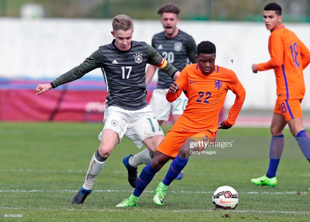 Netherlands U17 vs Germany U17, 40º Algarve International Tournament U17 : News Photo