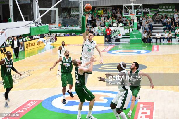 Erik Murphy of Nanterre during the Basketball Champions League match between Nanterre 92 and Sidigas Avellino on October 18 2017 in Nanterre France