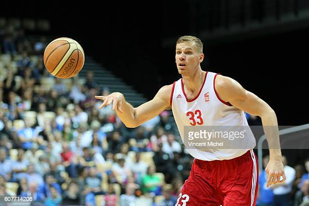 Erik Murphy of Strasbourg during the Final match between Strasbourg and Gravelines Dunkerque at Tournament ProStars at Salle Arena Loire on September...