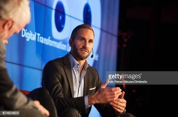 Erik Sandstrom during the Sime Awards at Epicenter on November 16 2017 in Stockholm Sweden