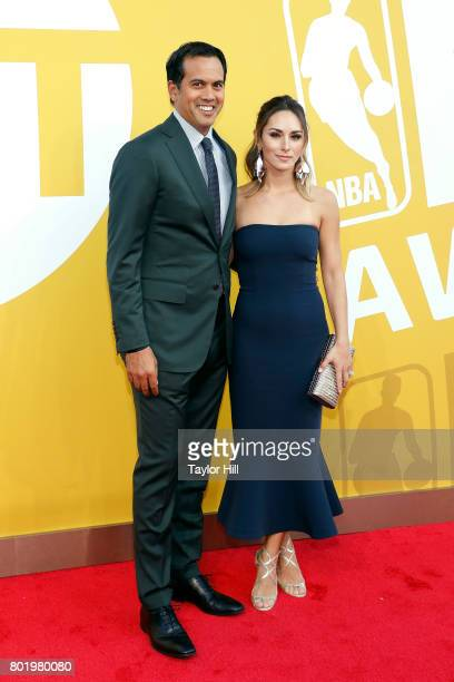 Erik Spoelstra attends the 2017 NBA Awards at Basketball City Pier 36 South Street on June 26 2017 in New York City
