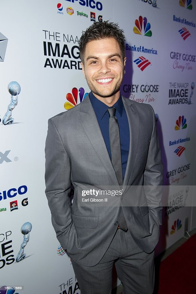 Erik Valdez attends the 44th NAACP Image Awards Pre-Gala at Vibiana on January 31, 2013 in Los Angeles, California.
