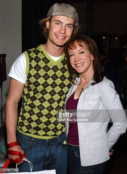 Erik Von Detten and Kathy Griffin during Silver Spoon PreOscar Hollywood Buffet Day One at Private Residence in Los Angeles California United States...