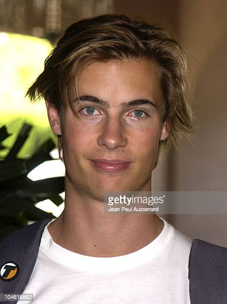 Erik Von Detten during ABC 2002 Summer Press Tour All Star Party at Tournament House in Pasadena California United States
