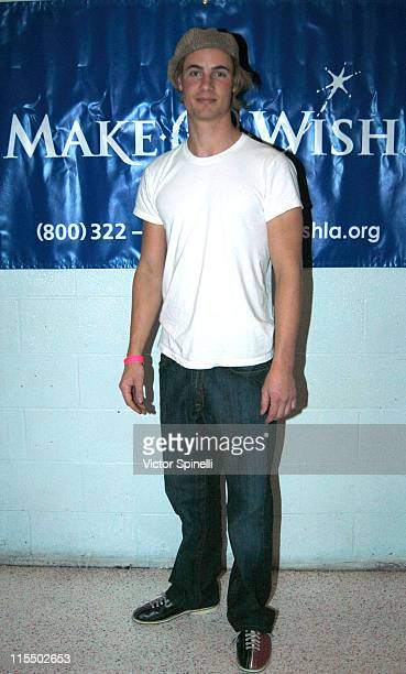 Erik Von Detten during Bowling For Wishes To Benefit MakeAWish Foundation at AMF Bay Shore Lanes in Santa Monica California United States