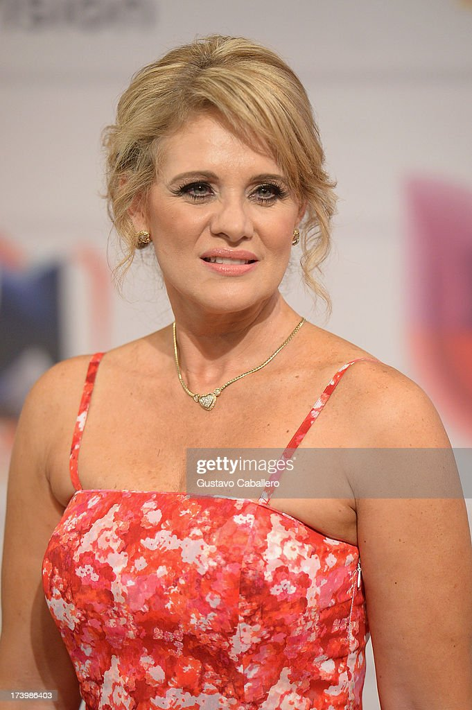 Erika Buenfil attends the Premios Juventud 2013 at Bank United Center on July 18, 2013 in Miami, Florida.