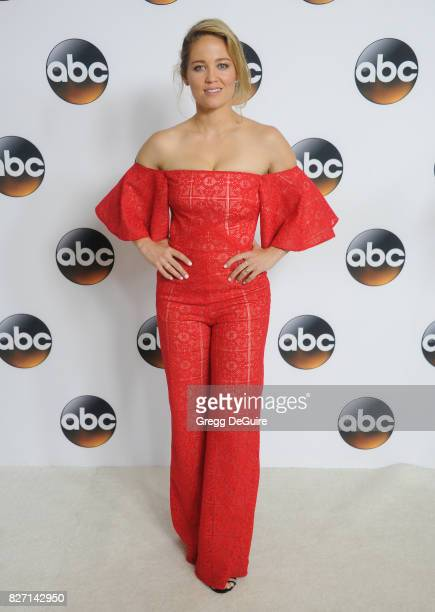 Erika Christensen arrives at the 2017 Summer TCA Tour Disney ABC Television Group at The Beverly Hilton Hotel on August 6 2017 in Beverly Hills...