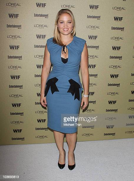 Erika Christensen arrives at the Entertainment Weekly and Women In Film preEMMY party held at The Sunset Marquis Hotel on August 27 2010 in West...