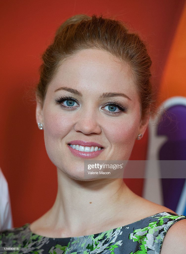 Erika Christensen arrives at the NBCUniversal's '2013 Summer TCA Tour' at The Beverly Hilton Hotel on July 27, 2013 in Beverly Hills, California.