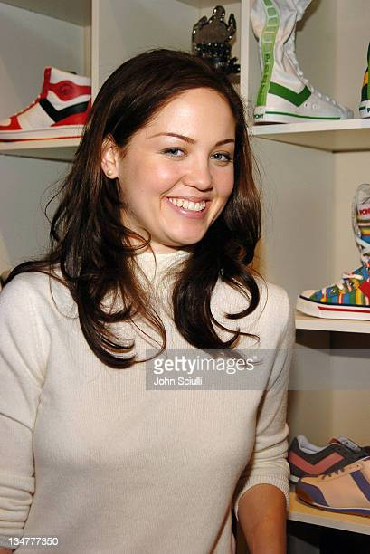 Erika Christensen at Fred Segal during 2005 Park City Fred Segal Boutique at Village at the Lift at Village at the Lift in Park City Utah United...