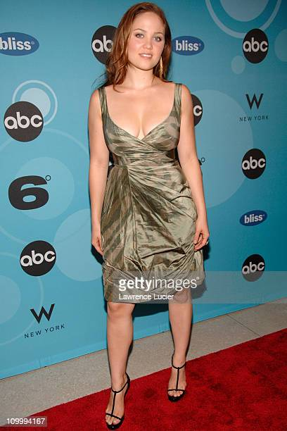 Erika Christensen during ABC's Six Degrees' Series Premiere at W Hotel in New York City New York United States