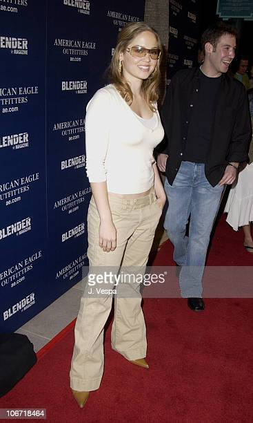 Erika Christensen during American Eagle Outfitters Flagship Store Opening to Benefit Jumpstart Sponsored by Blender Magazine at American Eagle Santa...