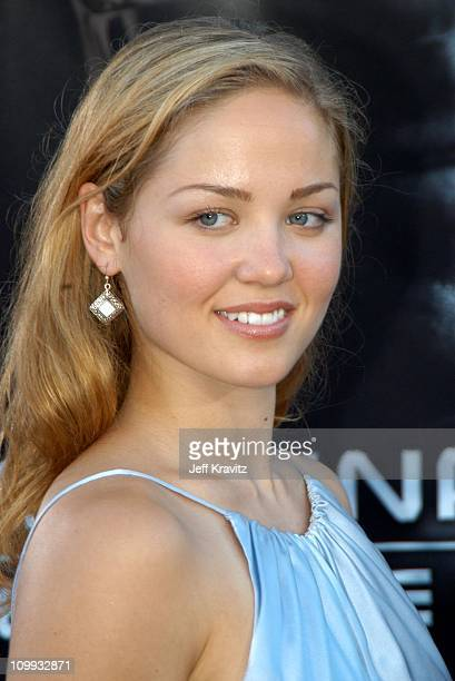 Erika Christensen during Terminator 3 Rise of the Machines World Premiere at Mann Bruin in Los Angeles California United States
