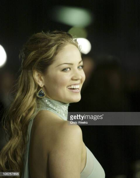Erika Christensen during 'The Perfect Score' Los Angeles Premiere at Cinerama Dome in Hollywood California United States