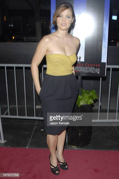 Erika Christensen during 'World Trade Center' New York Premiere Arrivals at The Ziegfeld Theatre in New York New York United States