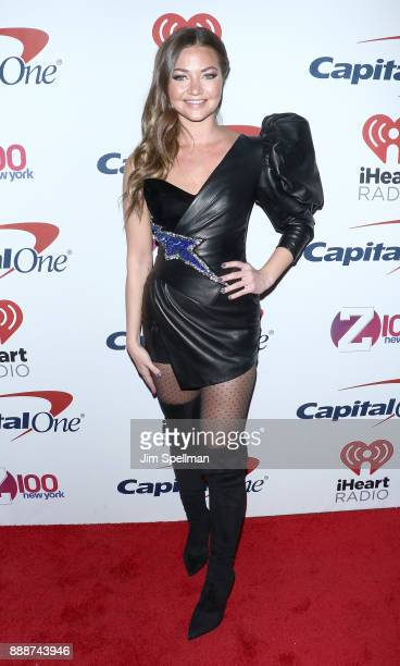 Erika Costell attends the Z100's iHeartRadio Jingle Ball 2017 at Madison Square Garden on December 8 2017 in New York City