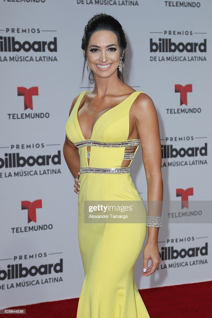 Erika Csiszer attends the Billboard Latin Music Awards at Bank United Center on April 28, 2016 in Miami, Florida.