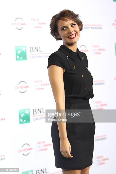 Erika D'Ambrosio attends a photocall for '7 Minuti' during the 11th Rome Film Festival at Auditorium Parco Della Musica on October 21 2016 in Rome...
