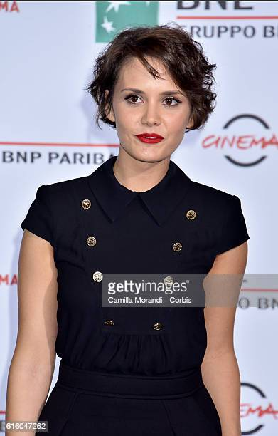 Erika D'Ambrosio attends a photocall for '7 Minuti' during the 11th Rome Film Festival on October 21 2016 in Rome Italy