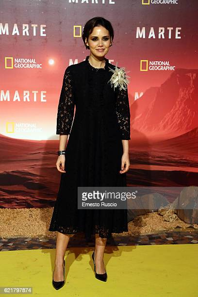 Erika D'Ambrosio attends the premiere of 'Marte' at The Space Moderno on November 8 2016 in Rome Italy
