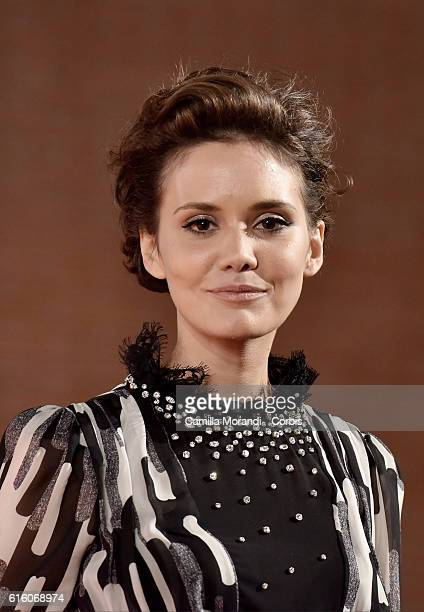 Erika D'Ambrosio walks a red carpet for '7 Minuti' during the 11th Rome Film Festival on October 21 2016 in Rome Italy