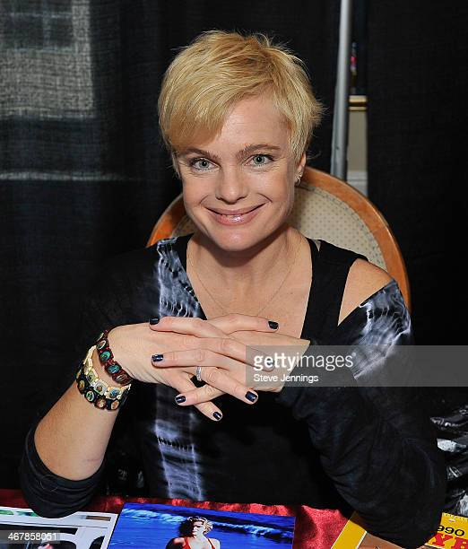 Erika Eleniak attends Kirk Von Hammett's Fear FestEvil at Grand Regency Ballroom on February 7 2014 in San Francisco California