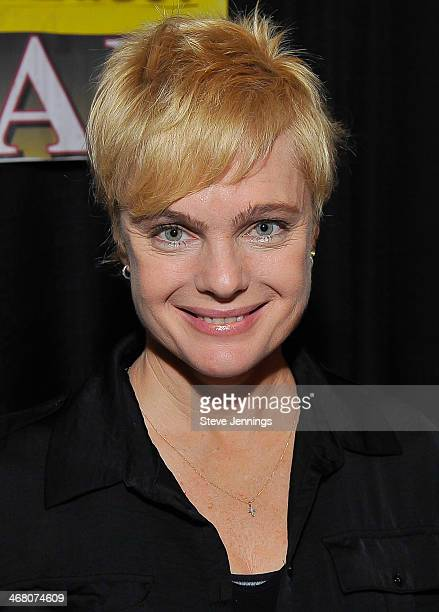Erika Eleniak attends Kirk Von Hammett's Fear FestEvil at Grand Regency Ballroom on February 8 2014 in San Francisco California