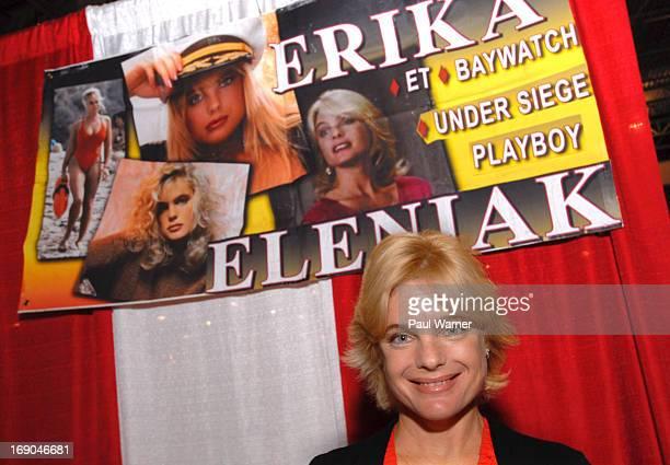 Erika Eleniak attends Motor City Comic Con at Suburban Collection Showplace on May 18 2013 in Novi Michigan