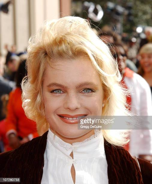 Erika Eleniak during 20th Anniversary Premiere of Steven Spielberg's 'ET The ExtraTerrestrial' Red Carpet at Shrine Auditorium in Los Angeles...