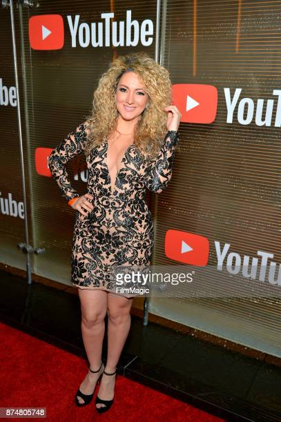 Erika Ender at YouTube Musica sin fronteras A Celebration of Latin Music at Jewel Nightclub at the Aria Resort Casino on November 15 2017 in Las...