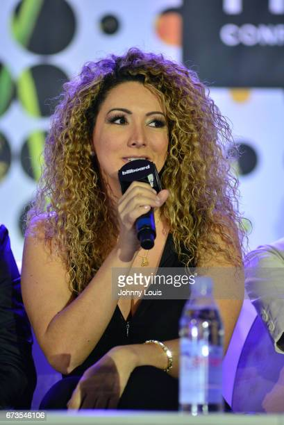 Erika Ender during The Billboard Latin Music Conference Awards Songwriters The New Generation panel at Ritz Carlton South Beach on April 26 2017 in...