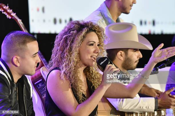 Erika Ender speaks at the Billboard Latin Conference 2017 at Ritz Carlton South Beach on April 26 2017 in Miami Beach Florida