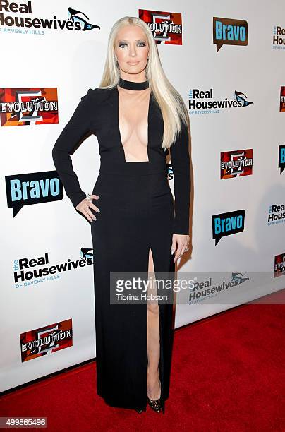 Erika Girardi attends the premiere party for Bravo's 'The Real Housewives Of Beverly Hills' season 6 at W Hollywood on December 3 2015 in Hollywood...