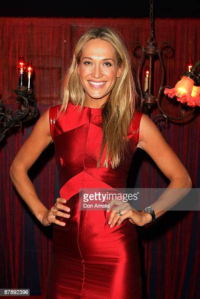 Erika Heynatz attends the Chandon Supper Club after party at The Club in Kings Cross on May 21 2009 in Sydney Australia