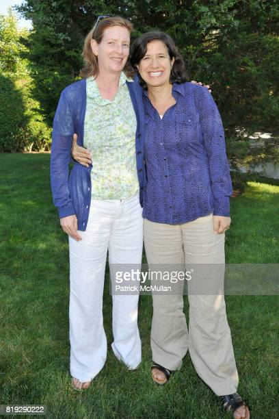 Erika Ineson and Harriet Barovick attend GODS LOVE WE DELIVERMid Summer Night Drinks Benefit at Home of Chad A Leat on June 19 2010 in Bridgehampton...