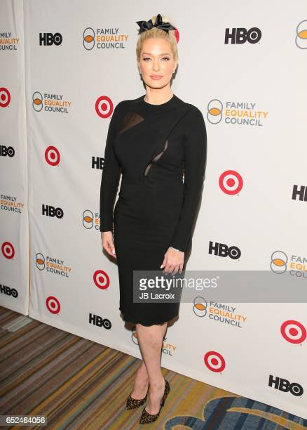 Erika Jayne attends the Family Equality Council's Annual Impact Awards on March 11 2017 in Beverly Hills California