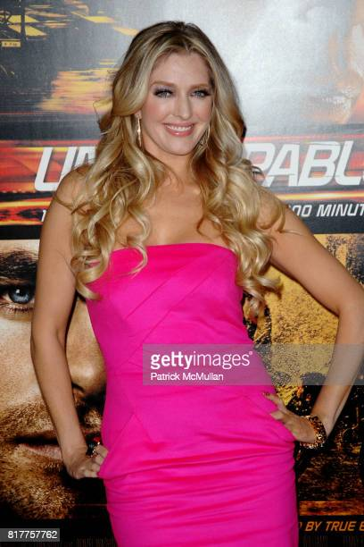 Erika Jayne attends UNSTOPPABLE World Premiere at Regency Village Theatre on October 26 2010 in Westwood California