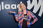 Erika Jayne Surprises GLAAD Offices In Los Angeles To...
