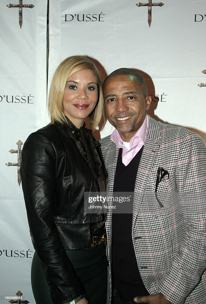 Erika Liles and Kevin Liles attend the Jay-Z & D'Usse Super Bowl Party at The Republic on February 2, 2013, in New Orleans, Louisiana.