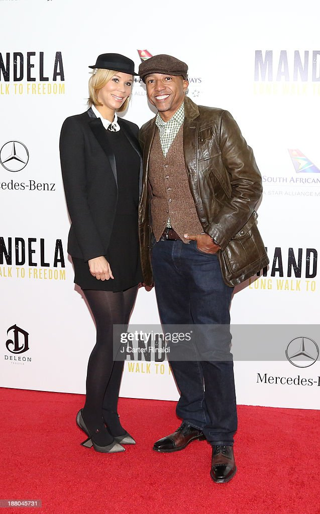 Erika Liles and <a gi-track='captionPersonalityLinkClicked' href=/galleries/search?phrase=Kevin+Liles&family=editorial&specificpeople=236082 ng-click='$event.stopPropagation()'>Kevin Liles</a> attend the screening of 'Mandela: Long Walk to Freedom' hosted by The Weinstein Company, Yucaipa Films & Videovision Entertainment, supported by Mercedes-Benz, South African Airways & DeLeon Tequila at Alice Tully Hall, Lincoln Center on November 14, 2013 in New York City.