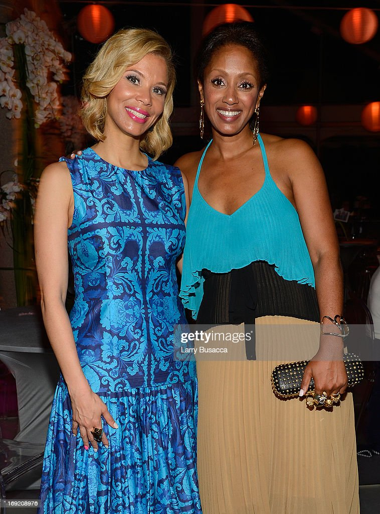 Erika Liles (L) and Malaak Compton-Rock attend the 2013 Peace, Love & A Cure Triple Negative Breast Cancer Foundation Benefit on May 21, 2013 in Cresskill, New Jersey.