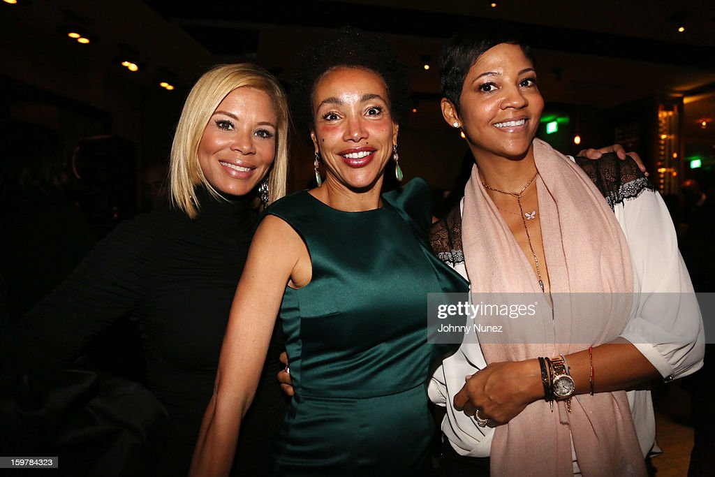 Erika Liles, Jaci Reid, and <a gi-track='captionPersonalityLinkClicked' href=/galleries/search?phrase=Tracy+Mourning&family=editorial&specificpeople=712319 ng-click='$event.stopPropagation()'>Tracy Mourning</a> attend the After@inauguration Celebration on January 19, 2013 in Washington, United States.