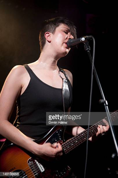 Erika M Anderson of EMA performs on stage at Rotown on May 22 2012 in Rotterdam Netherlands