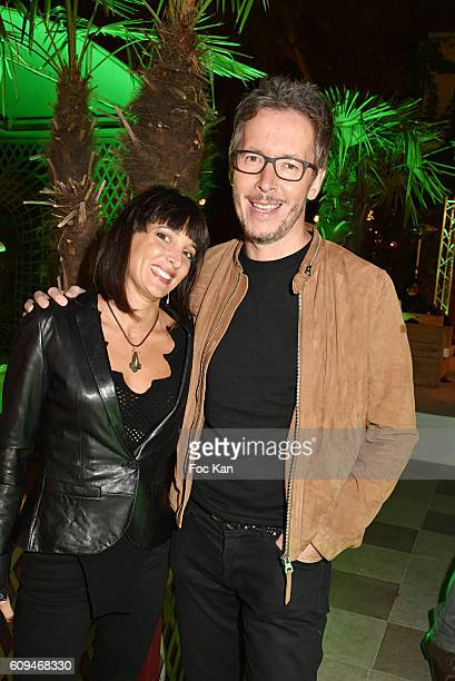 Erika Moulet and Jean Luc Lemoine attend the Acer 40th Anniversary at Musee Des Arts Forains on September 20 2016 in Paris France