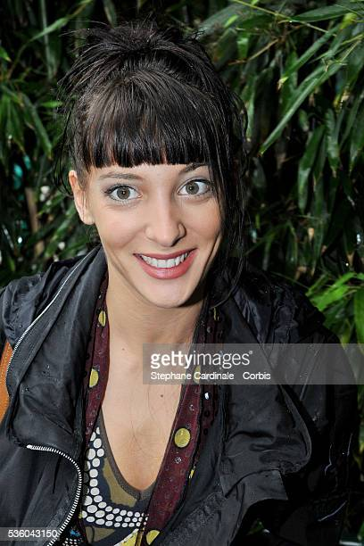 Erika Moulet at Roland Garros Village in Paris