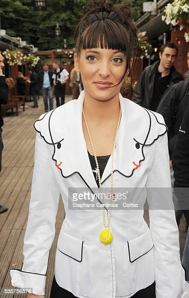 Erika Moulet at Roland Garros Village