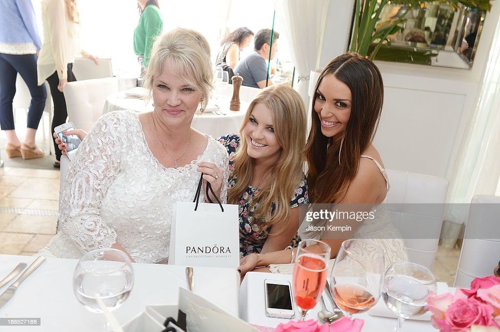 Erika Vanolehen, Pandora Vanderpump and Scheana Marie attend the PANDORA jewelry Mothers Day celebration with the Vanderpumps on May 6, 2013 in Beverly Hills, California.